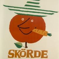 KF-affisch: Skördefest i konsum