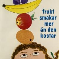 KF-affisch: frukt smakar mer än den kostar