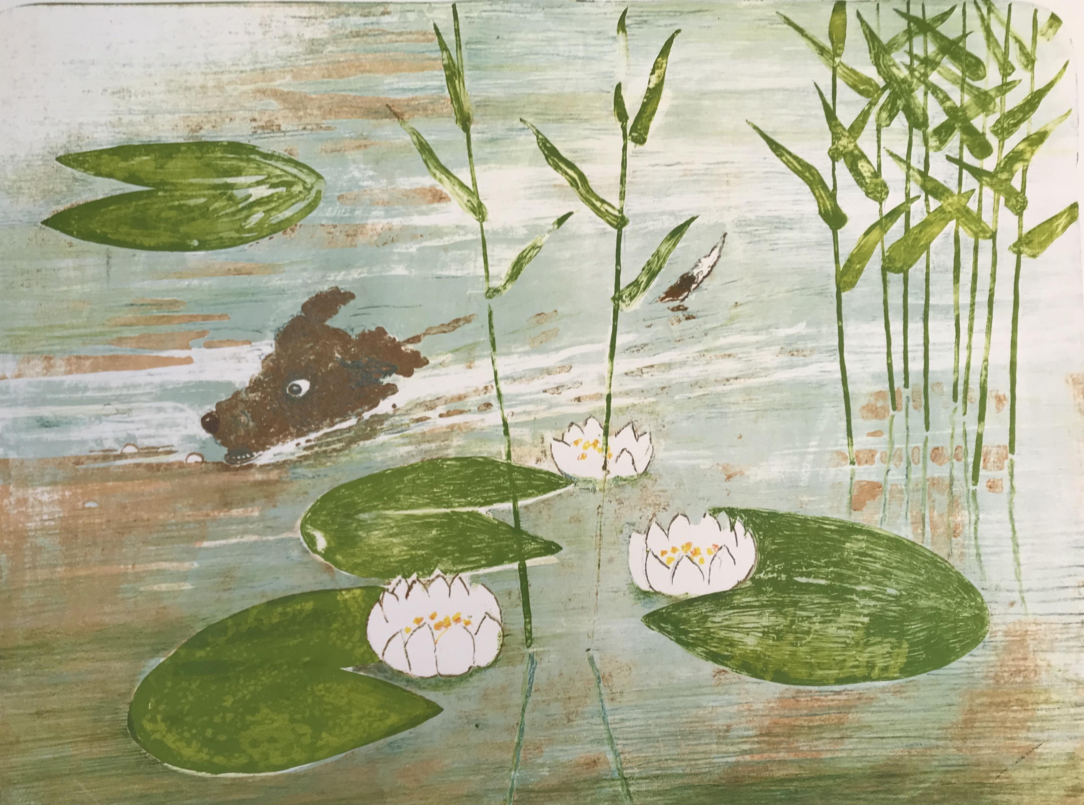 Karin Södergren, Ylle simmar