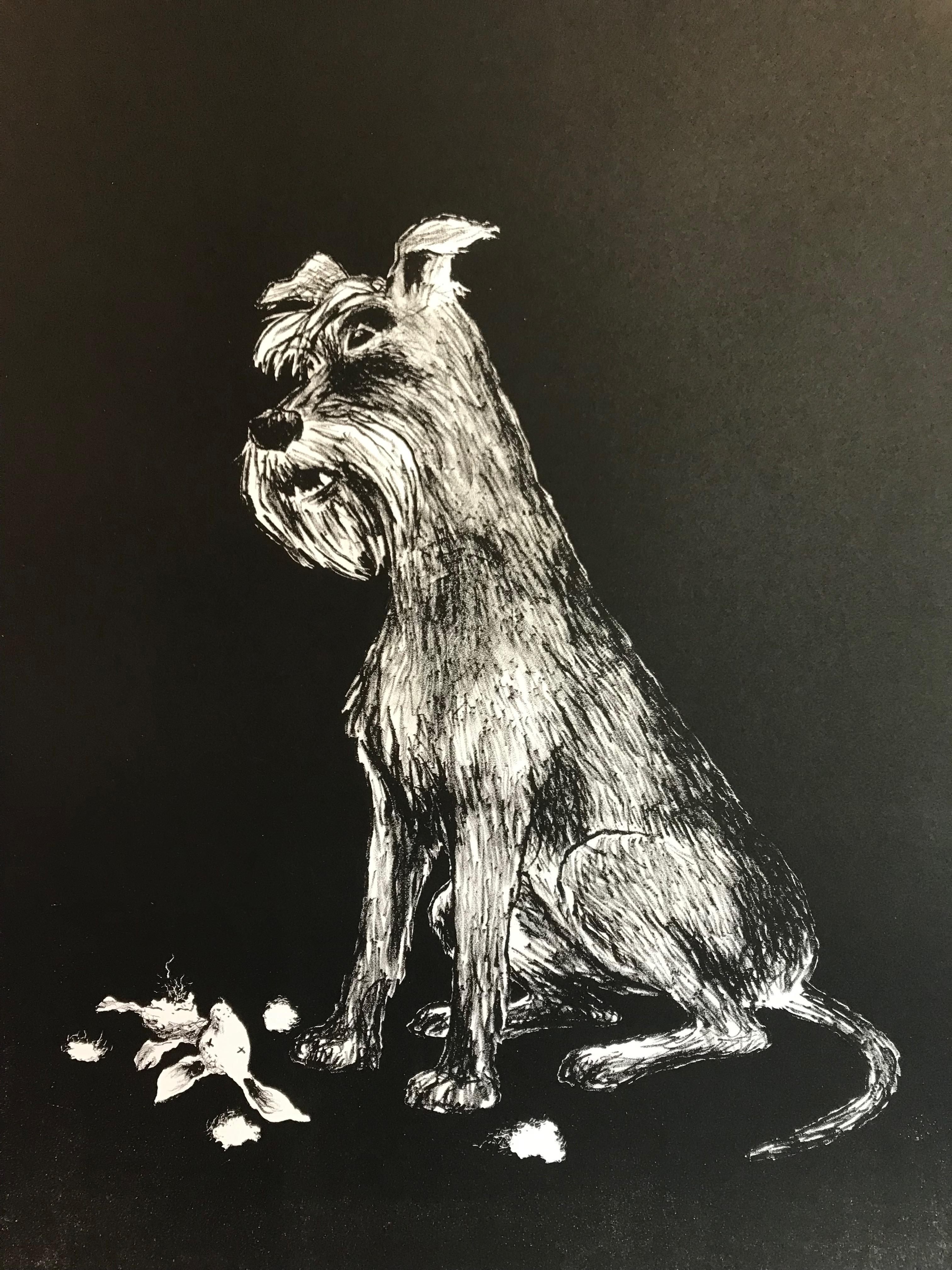 Karin Södergren, litografi 2019