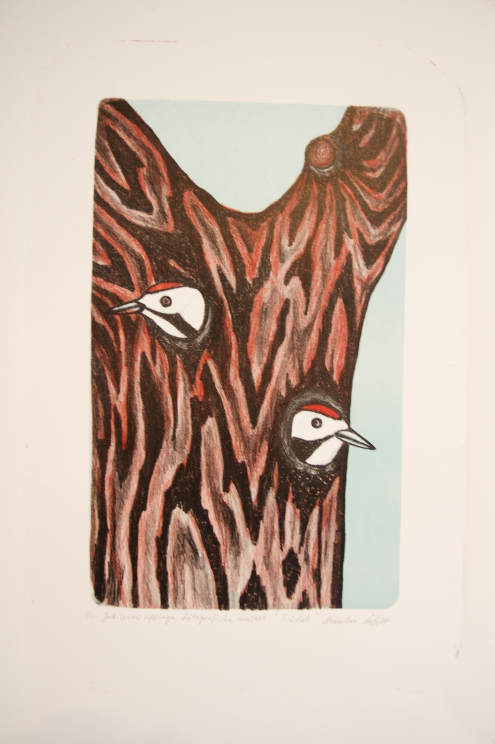 Amalia Årfelt, Trädet