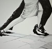 Kent Andersson, Tangosteg, svart