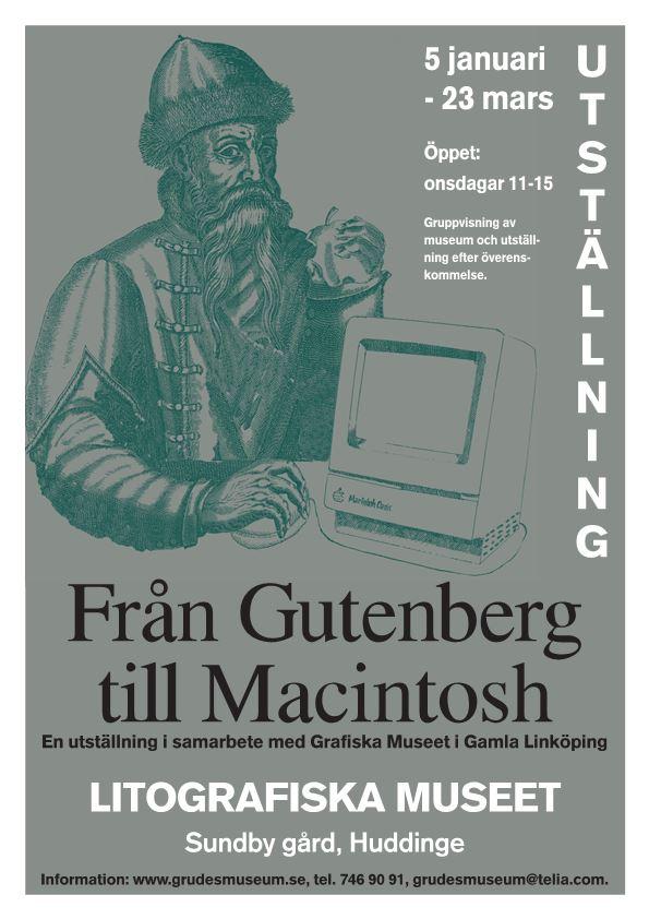2011: Från Gutenberg till Macintosch