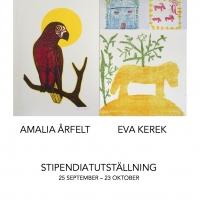 2016: Amalia Årfelt och Eva Kerek