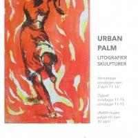 2017: Urban Palm. Litografier, skulpturer