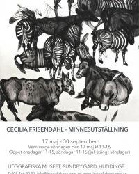 2015: Cecilia Frisendahl. Minnesutställning