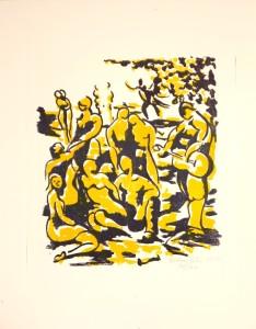 Urban Palm, litografi 2012